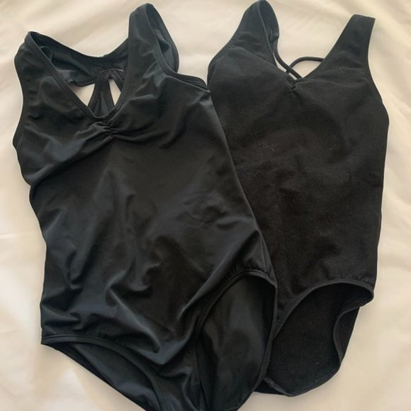 balera LEOTARDS (BLACK ) - sz MC- 2 pieces